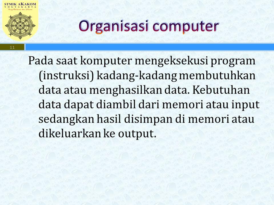 Organisasi computer