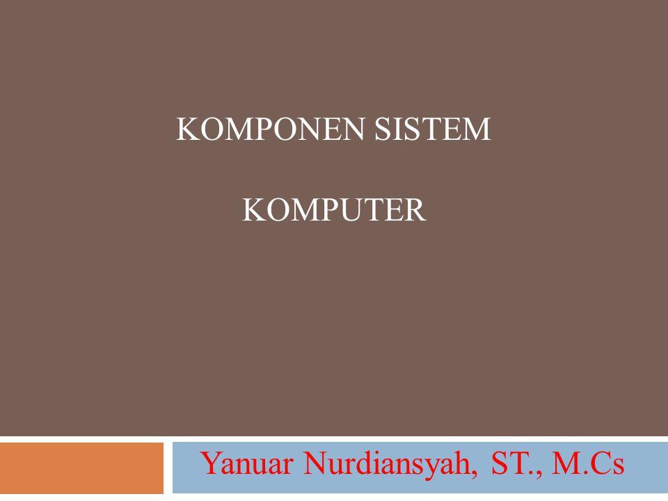 Yanuar Nurdiansyah, ST., M.Cs