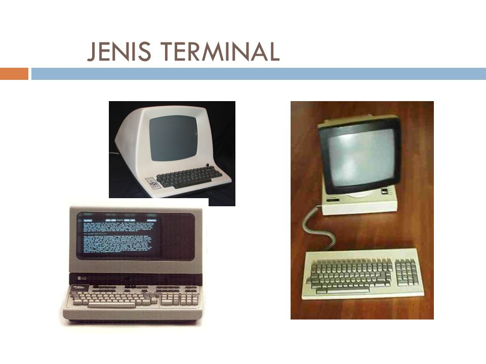 JENIS TERMINAL