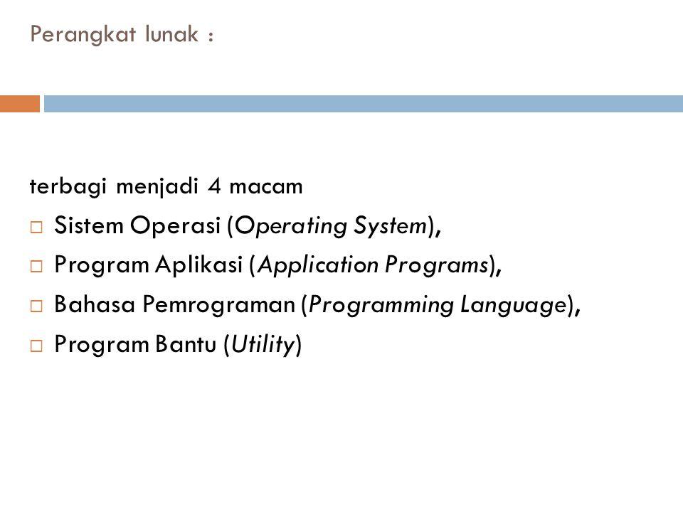 Sistem Operasi (Operating System),