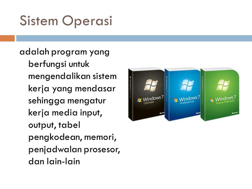 Sistem Operasi