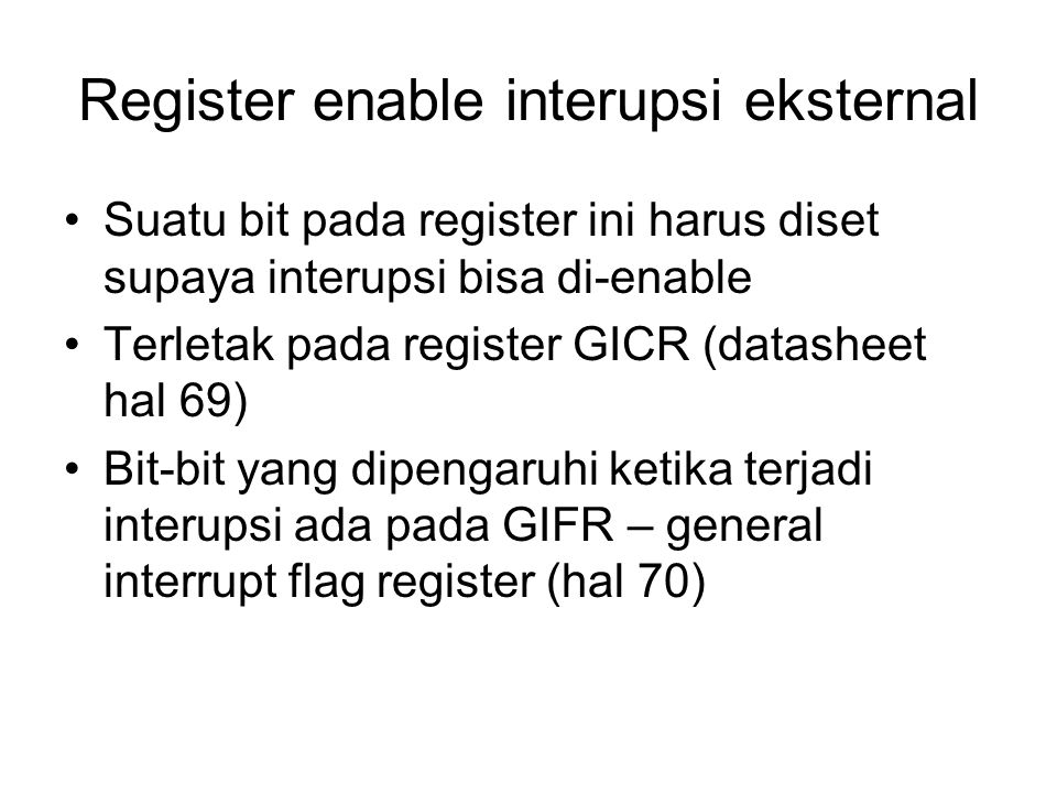Register enable interupsi eksternal