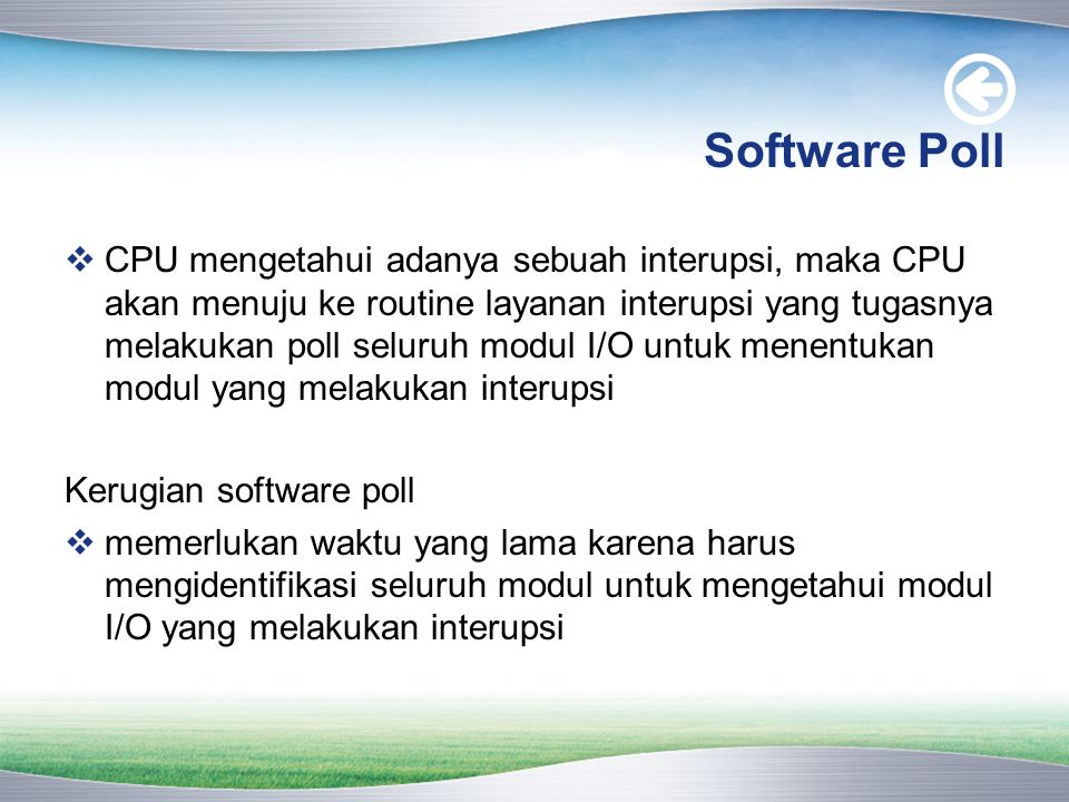 Software Poll