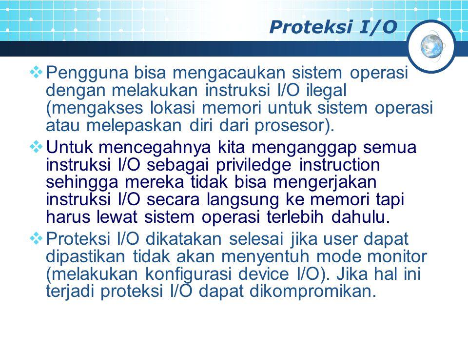 Proteksi I/O