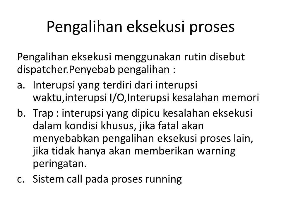 Pengalihan eksekusi proses