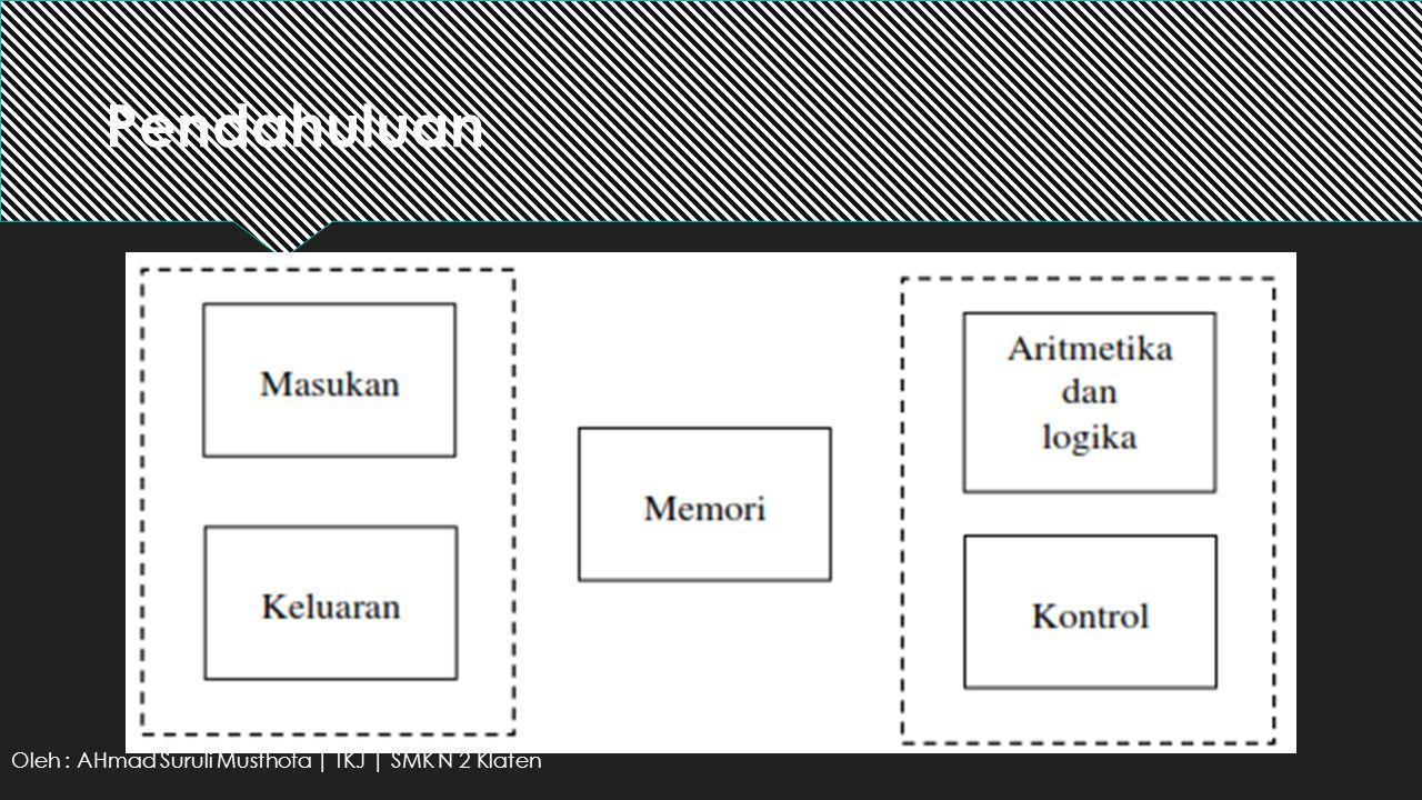 Pendahuluan Oleh : AHmad Suruli Musthofa | TKJ | SMK N 2 Klaten