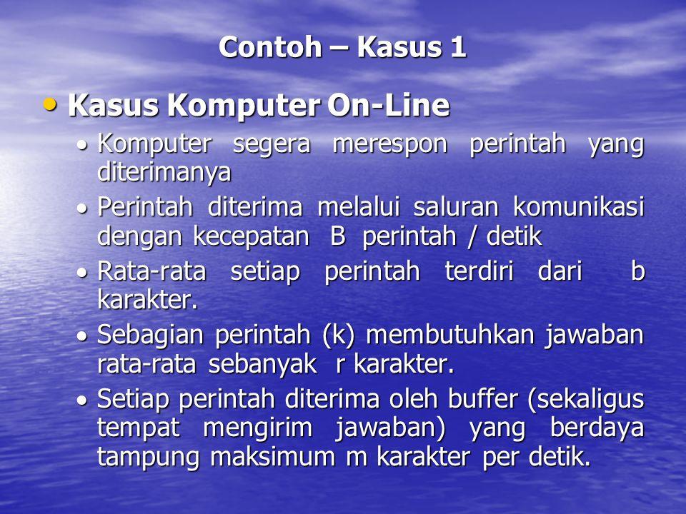 Kasus Komputer On-Line