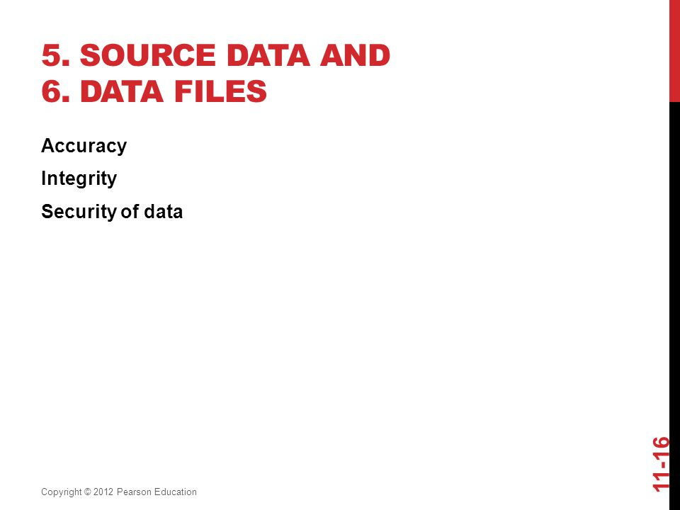 5. Source Data and 6. Data Files