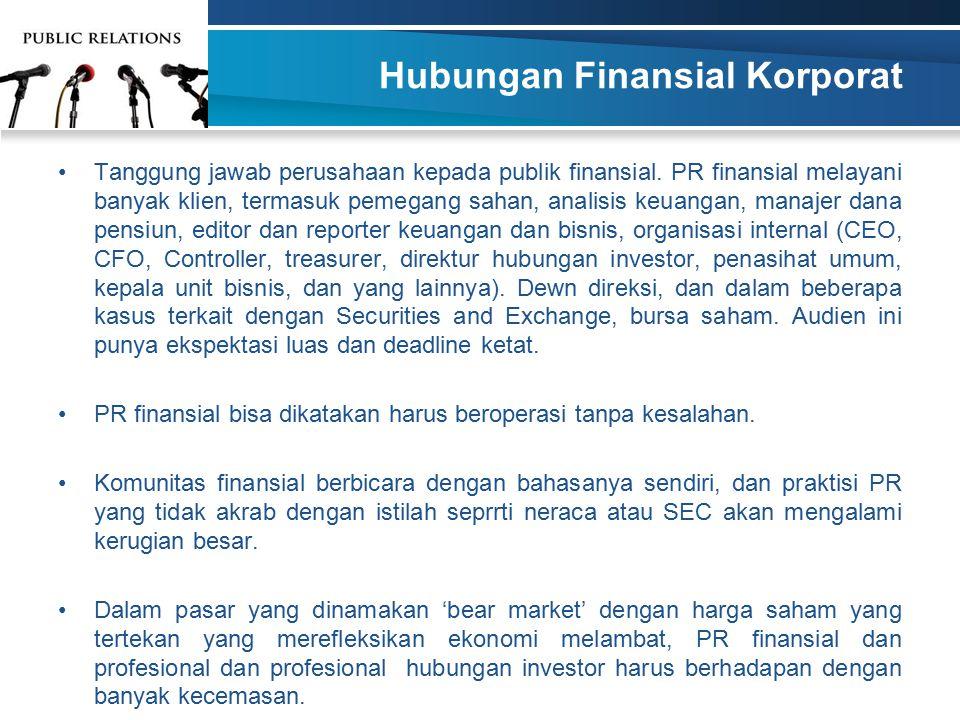 Hubungan Finansial Korporat