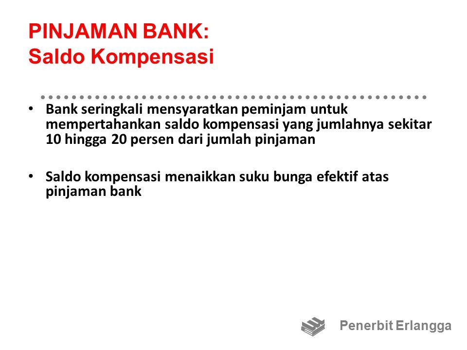 PINJAMAN BANK: Saldo Kompensasi