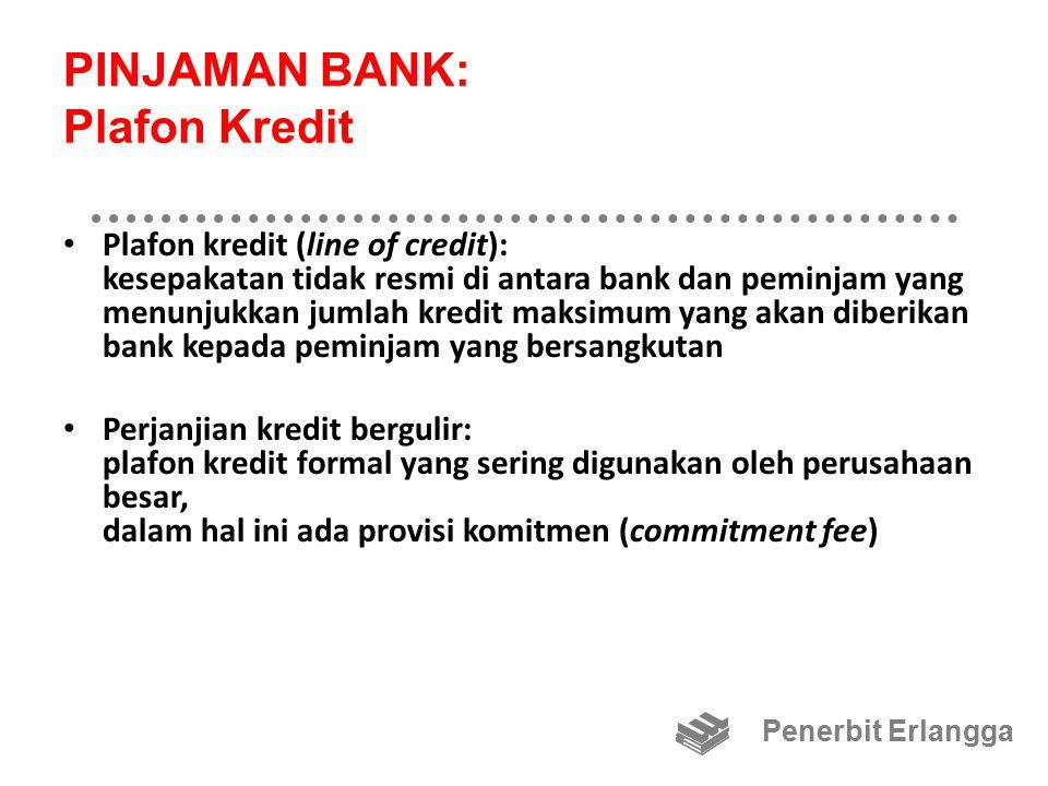 PINJAMAN BANK: Plafon Kredit