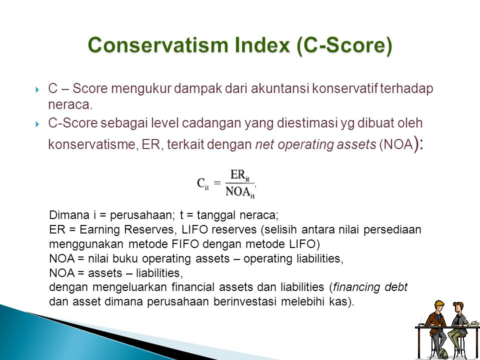 Conservatism Index (C-Score)