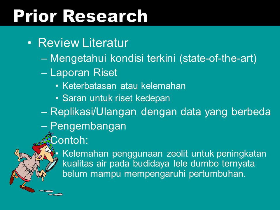 Prior Research Review Literatur