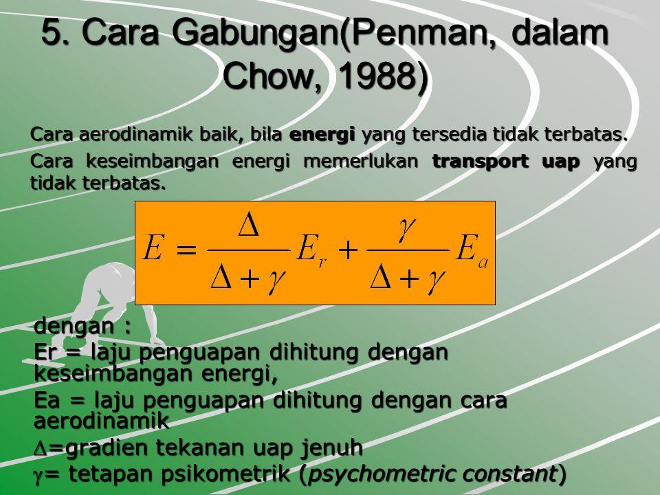 5. Cara Gabungan(Penman, dalam Chow, 1988)