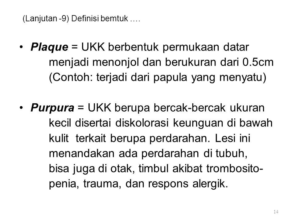 (Lanjutan -9) Definisi bemtuk ….
