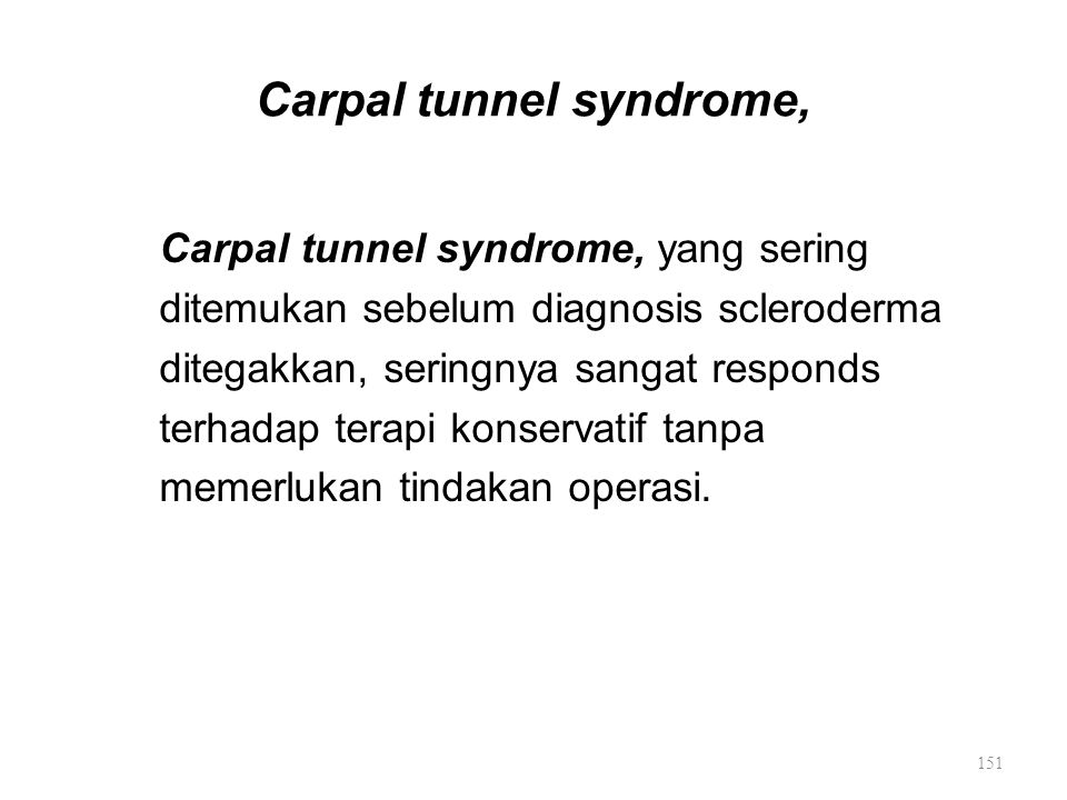 Carpal tunnel syndrome,