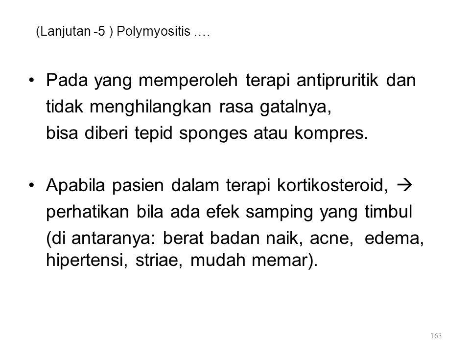(Lanjutan -5 ) Polymyositis ….