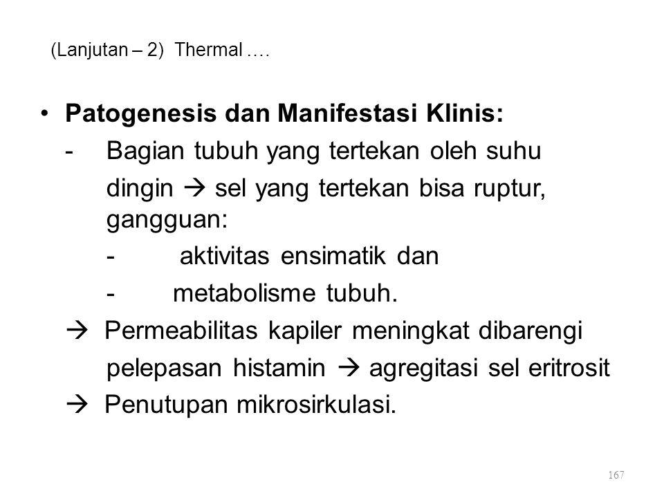 Patogenesis dan Manifestasi Klinis: