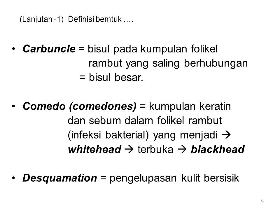(Lanjutan -1) Definisi bemtuk ….