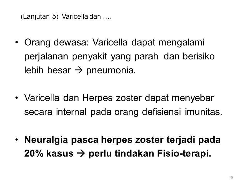 (Lanjutan-5) Varicella dan ….