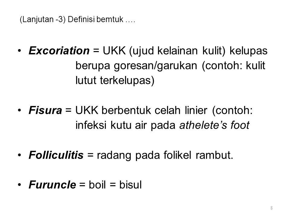 (Lanjutan -3) Definisi bemtuk ….