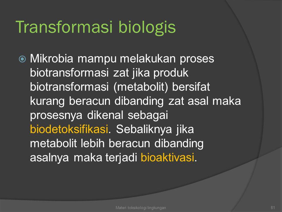Transformasi biologis