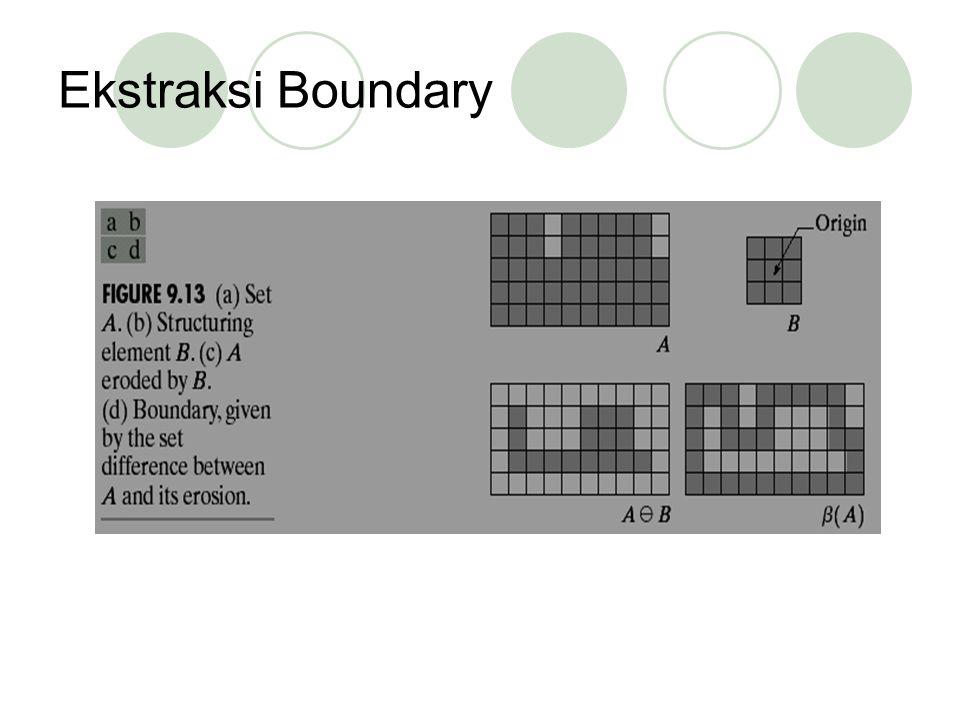 Ekstraksi Boundary