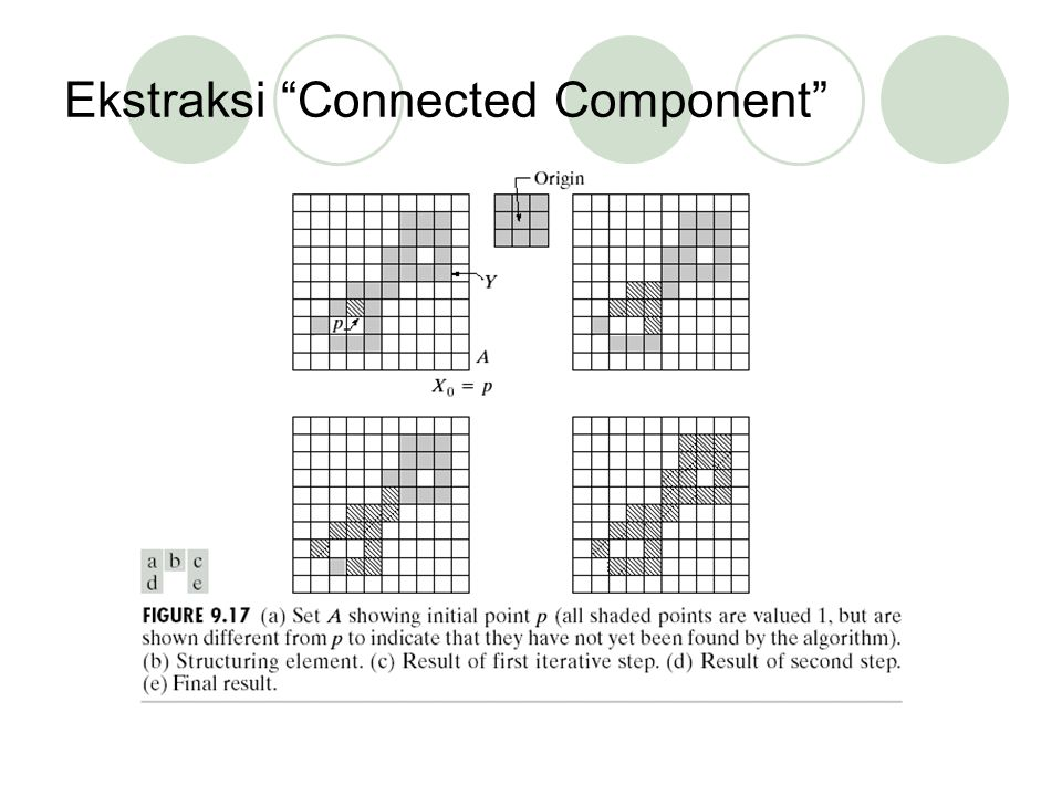 Ekstraksi Connected Component