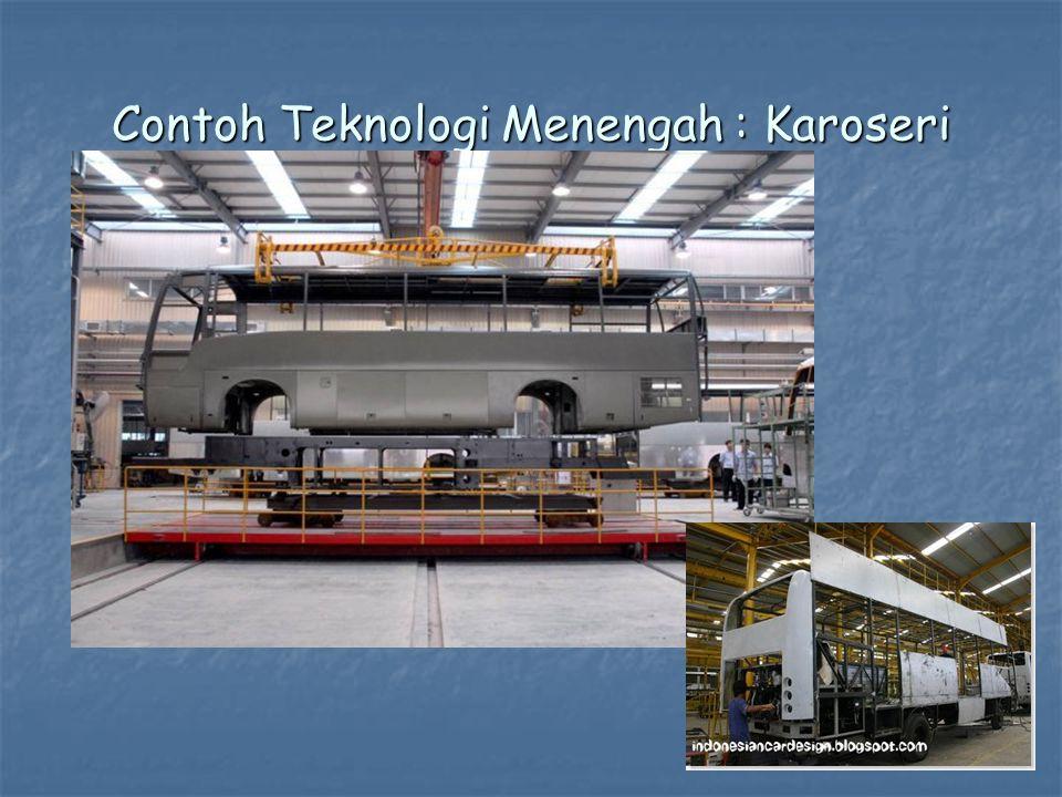 Contoh Teknologi Menengah : Karoseri