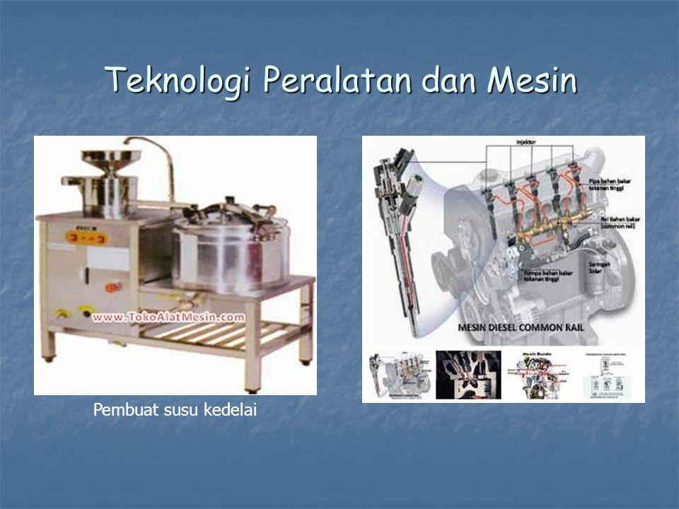 Teknologi Peralatan dan Mesin