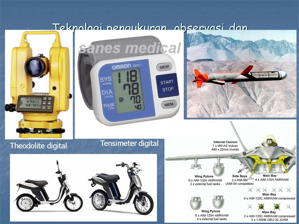 Teknologi pengukuran, observasi dan pengendalian