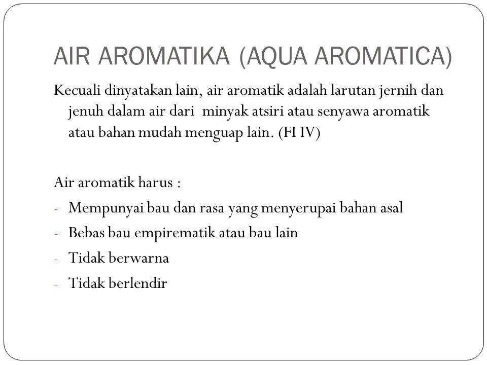 AIR AROMATIKA (AQUA AROMATICA)