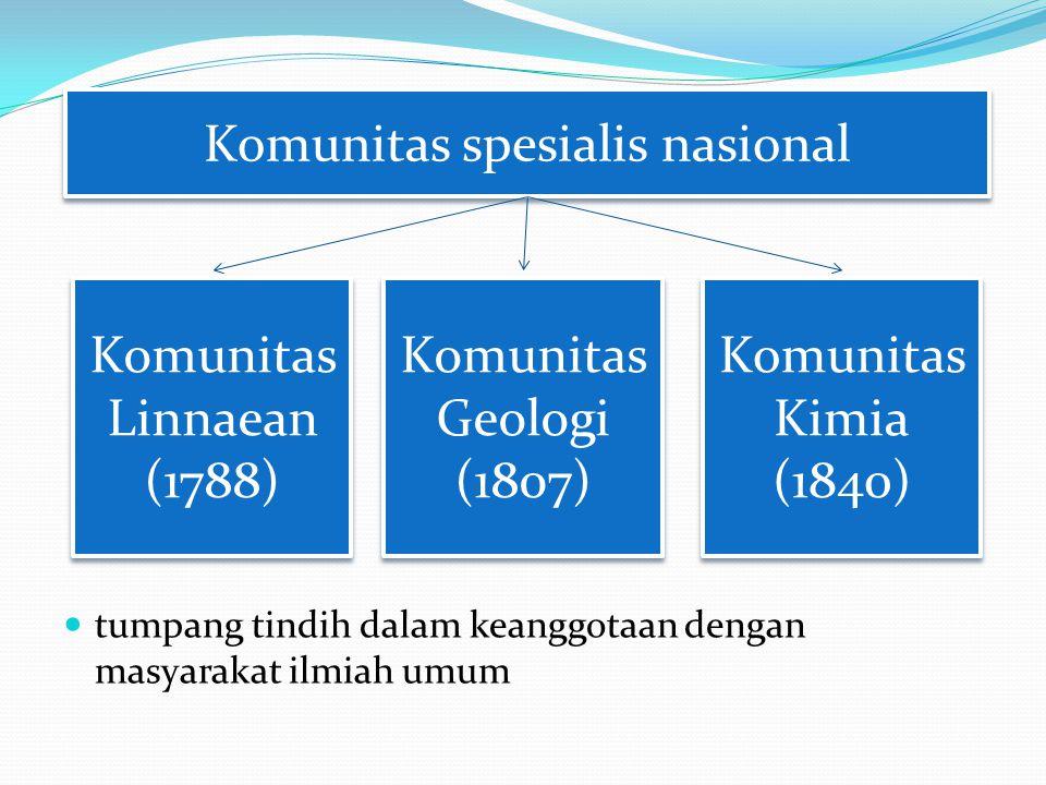 Komunitas spesialis nasional