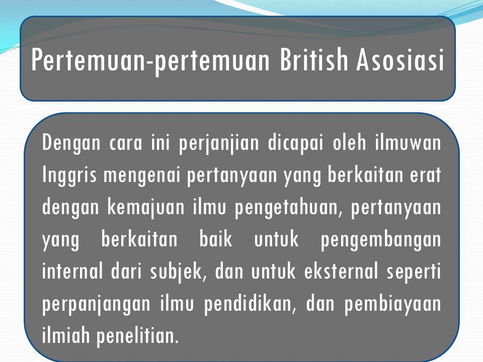 Pertemuan-pertemuan British Asosiasi