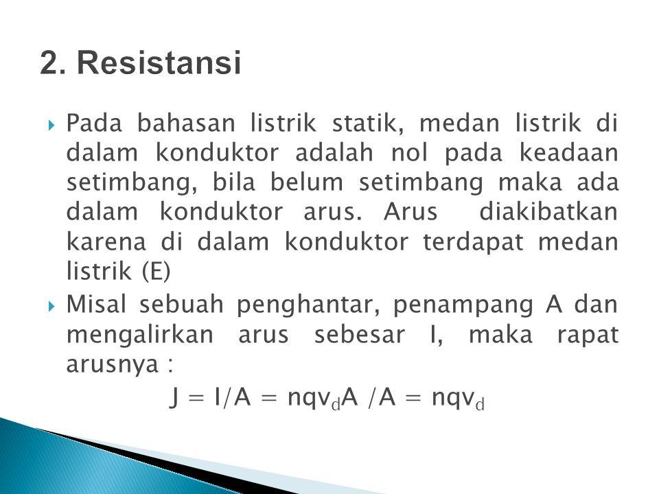 2. Resistansi