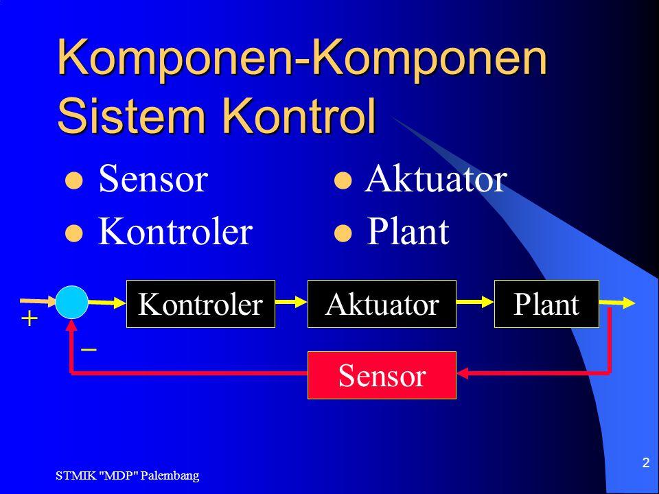 Komponen-Komponen Sistem Kontrol