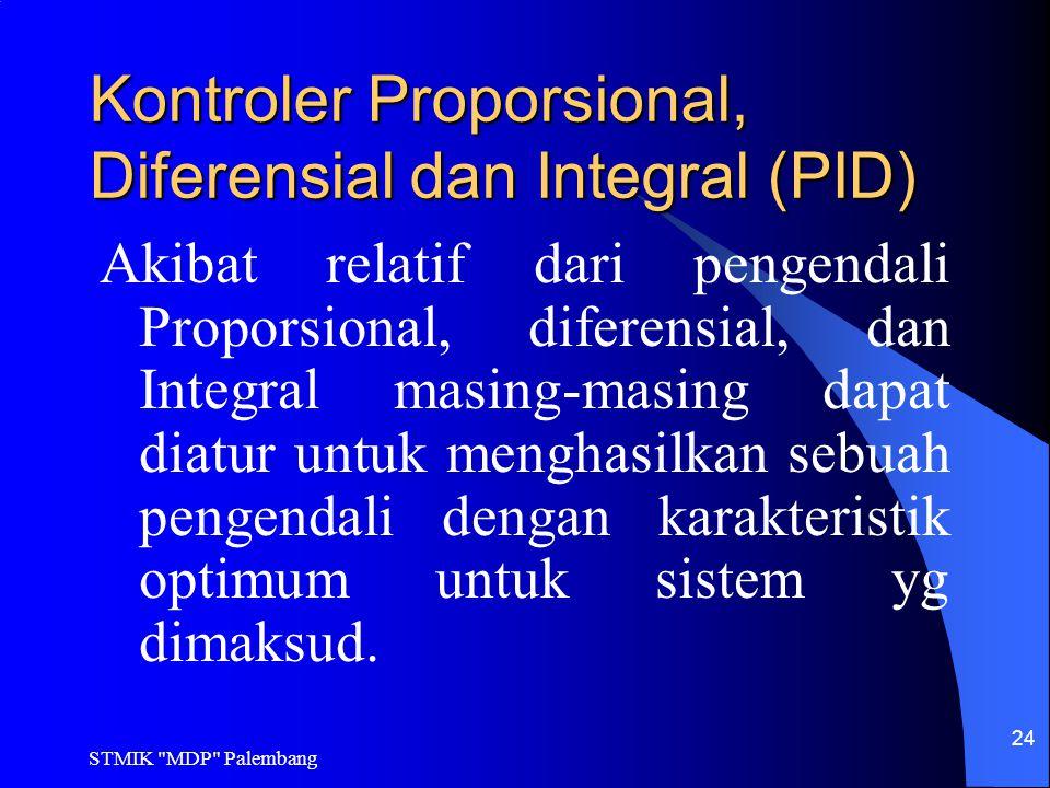 Kontroler Proporsional, Diferensial dan Integral (PID)