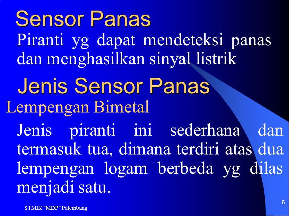Sensor Panas Jenis Sensor Panas