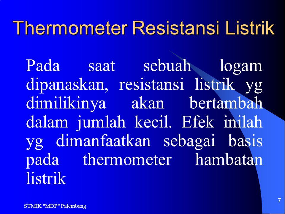 Thermometer Resistansi Listrik