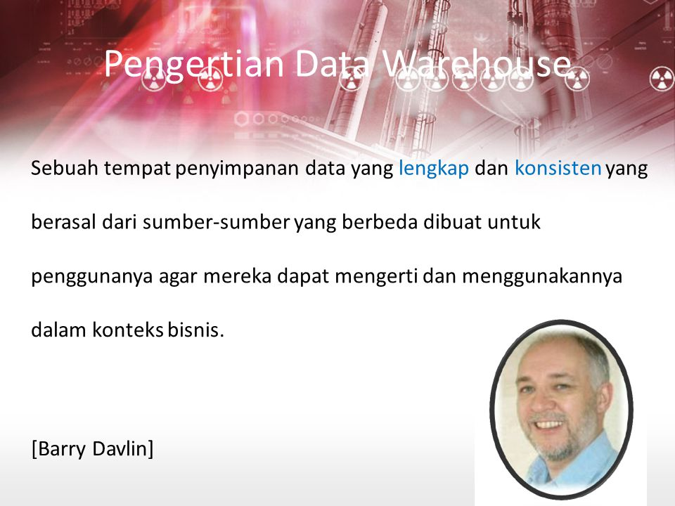 Pengertian Data Warehouse