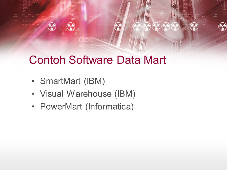 Contoh Software Data Mart