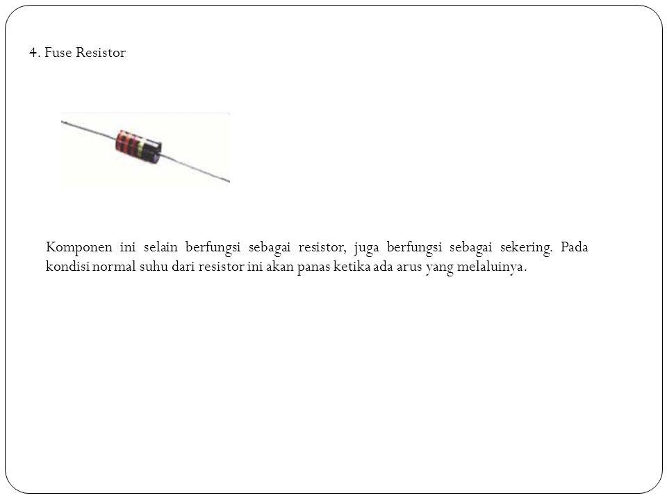 4. Fuse Resistor