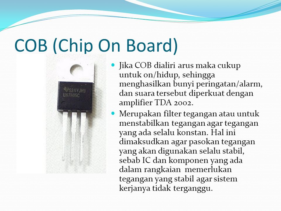 COB (Chip On Board)