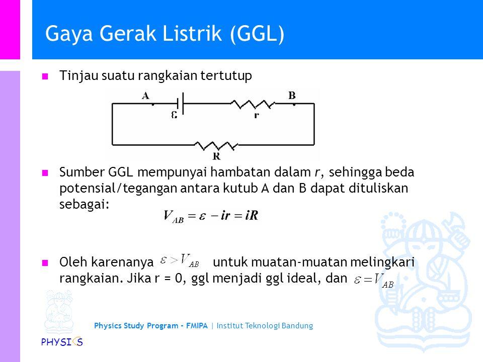 Gaya Gerak Listrik (GGL)