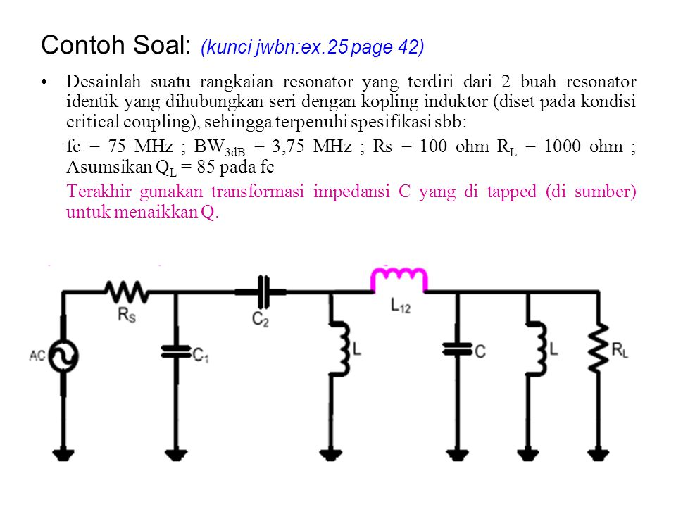 Contoh Soal: (kunci jwbn:ex.25 page 42)