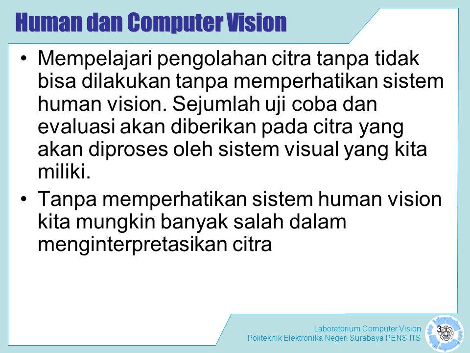 Human dan Computer Vision