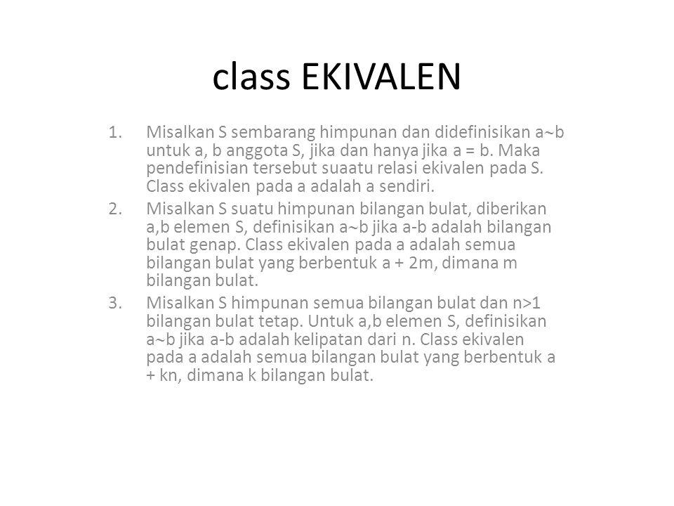 class EKIVALEN