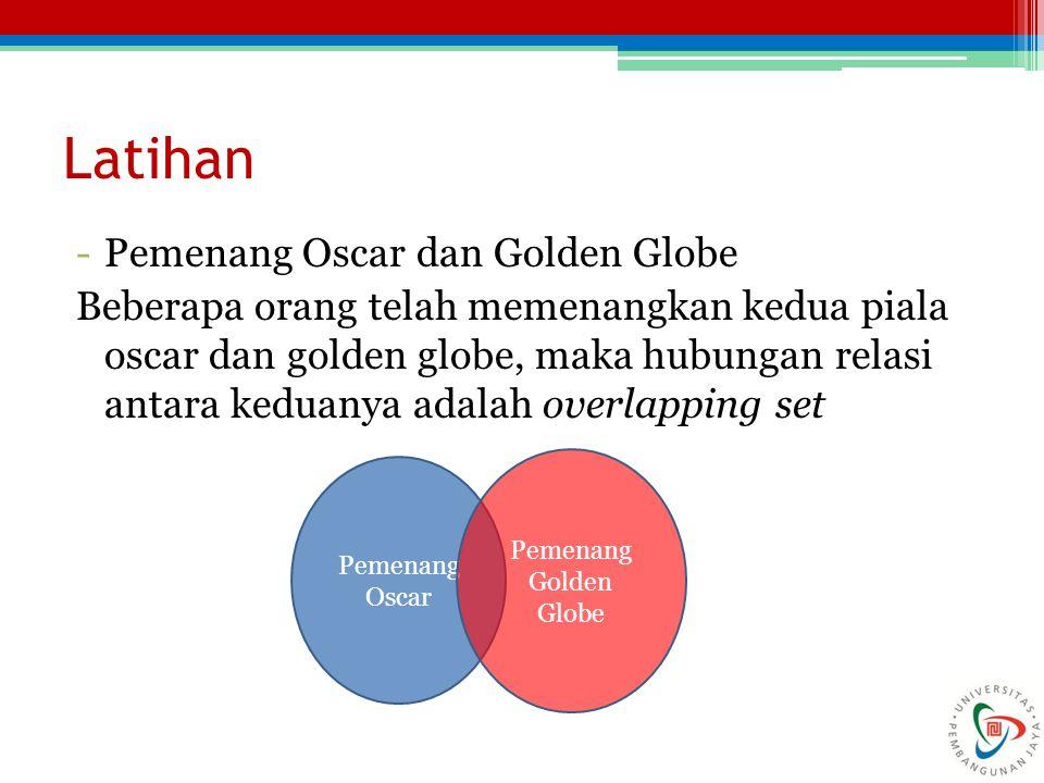 Latihan Pemenang Oscar dan Golden Globe