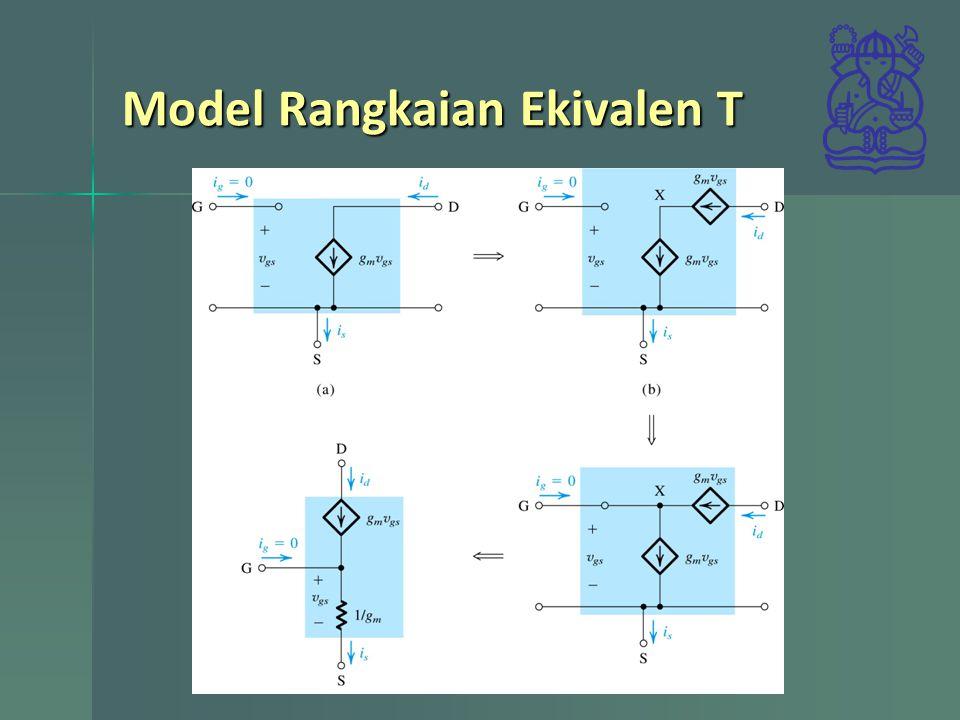 Model Rangkaian Ekivalen T