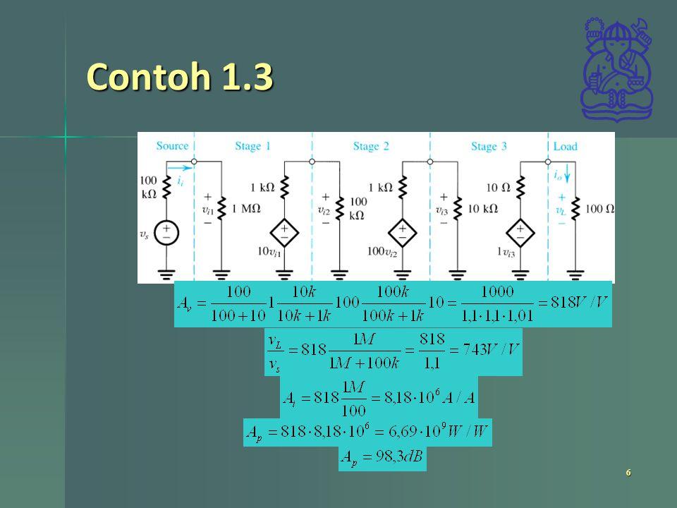 Contoh 1.3